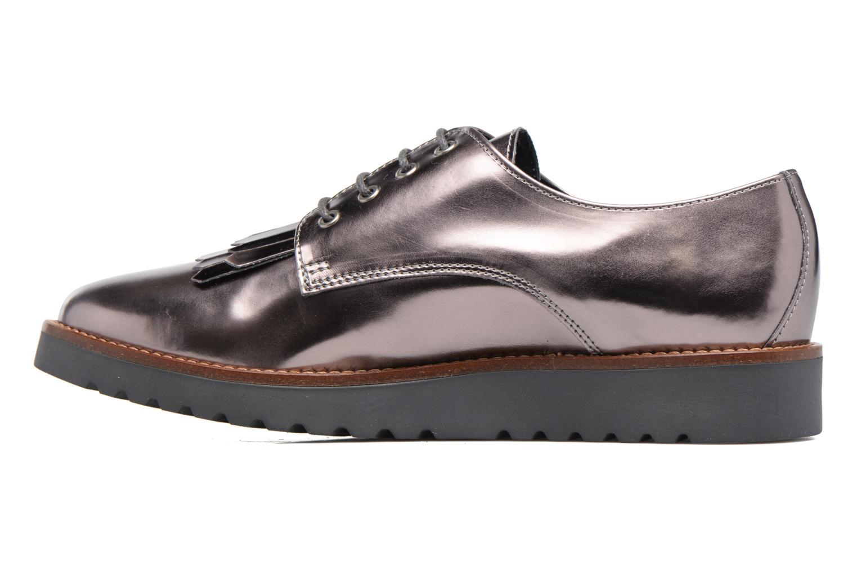 Chaussures à lacets Georgia Rose Guitou Or et bronze vue face