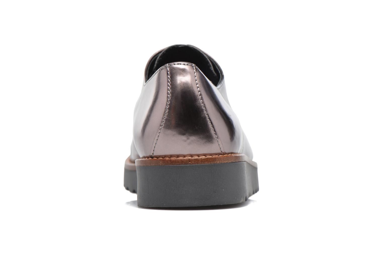 Chaussures à lacets Georgia Rose Guitou Or et bronze vue droite