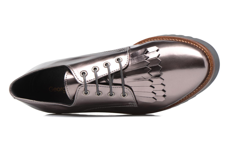 Chaussures à lacets Georgia Rose Guitou Or et bronze vue gauche