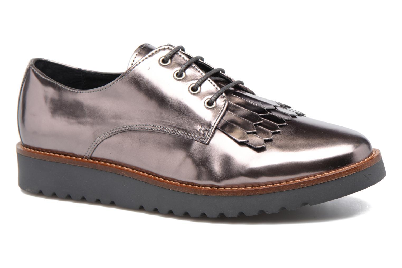 Chaussures à lacets Georgia Rose Guitou Or et bronze vue détail/paire