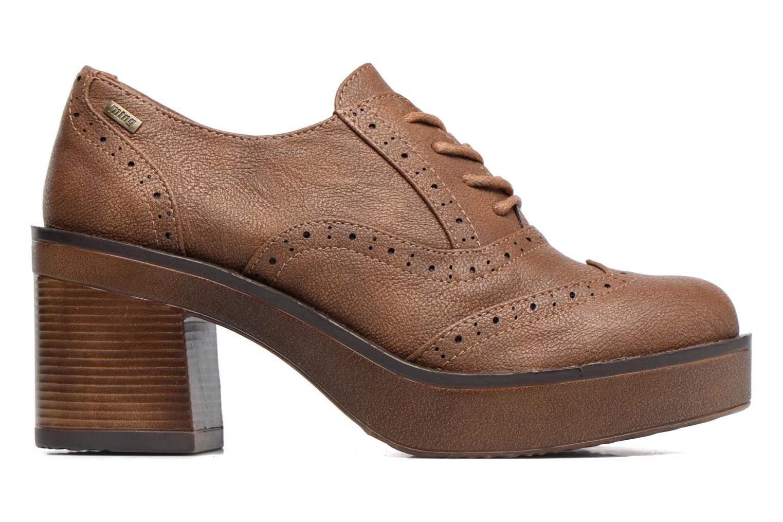 Zapatos con cordones MTNG Priva Marrón vistra trasera