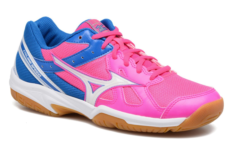 Chaussures de sport Mizuno CYCLONE SPEED Rose vue détail/paire