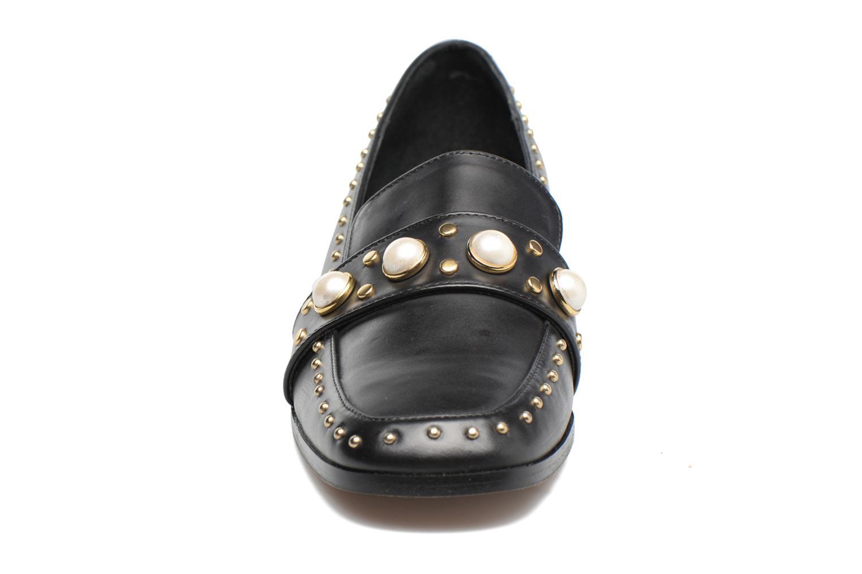 Mocassins Jonak Candi Noir vue portées chaussures