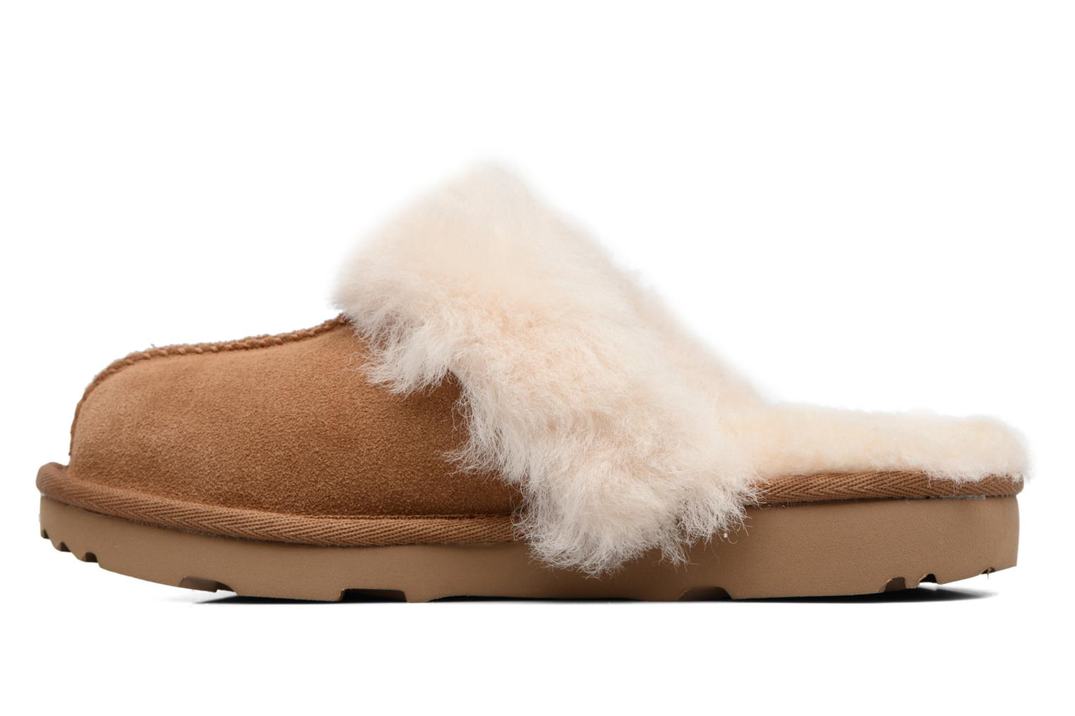 Chaussons UGG Cozy II K Marron vue face