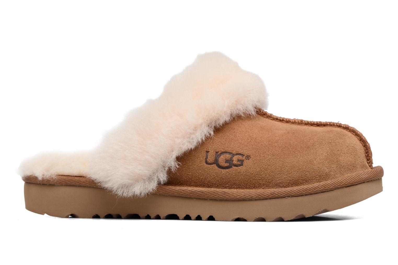 Pantoffels UGG Cozy II K Bruin achterkant