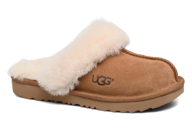 Pantoffels UGG Cozy II Bruin detail