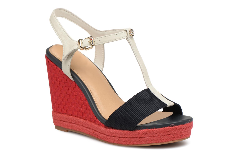 Nuevos zapatos para hombres y mujeres, descuento por tiempo limitado Tommy Hilfiger ICONIC ELENA POP COLOR (Rojo) - Alpargatas en Más cómodo