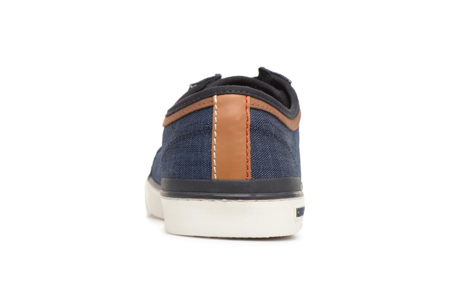 Midnight Tommy Hilfiger CORE MATERIAL MIX SNEAKER (Bleu)