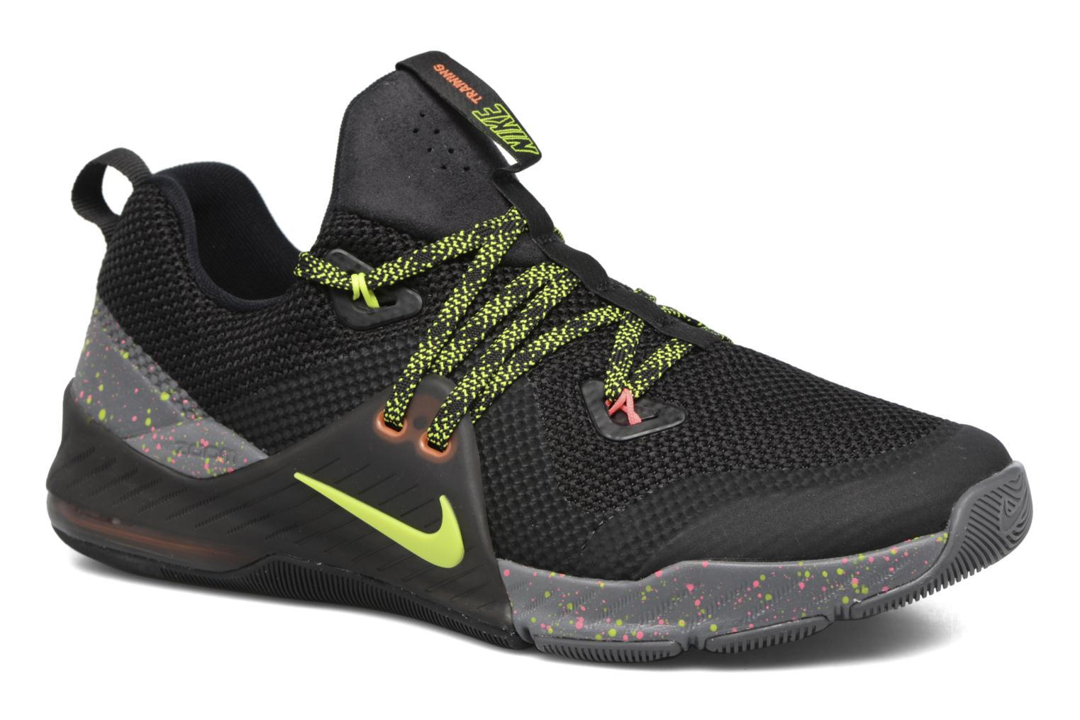 Mens Zoom Train Command Fitness Shoes, Black-Black-Volt-Dark GRE Nike