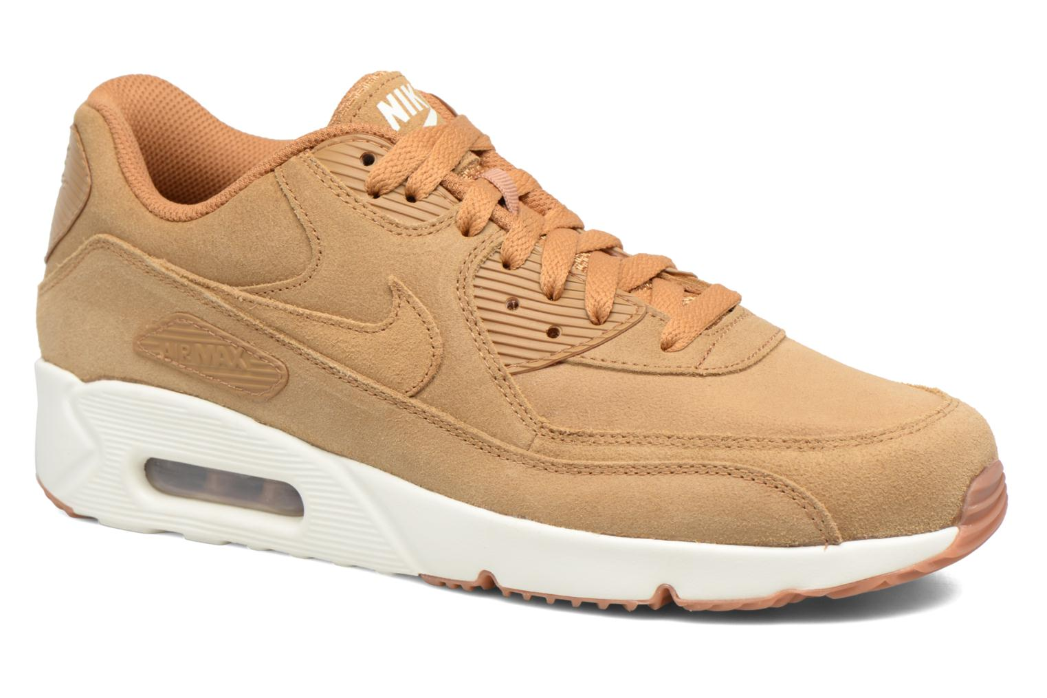 Air Max 90 Ultra 2.0 Ltr Flax/Flax-Sail-Gum Med Brown