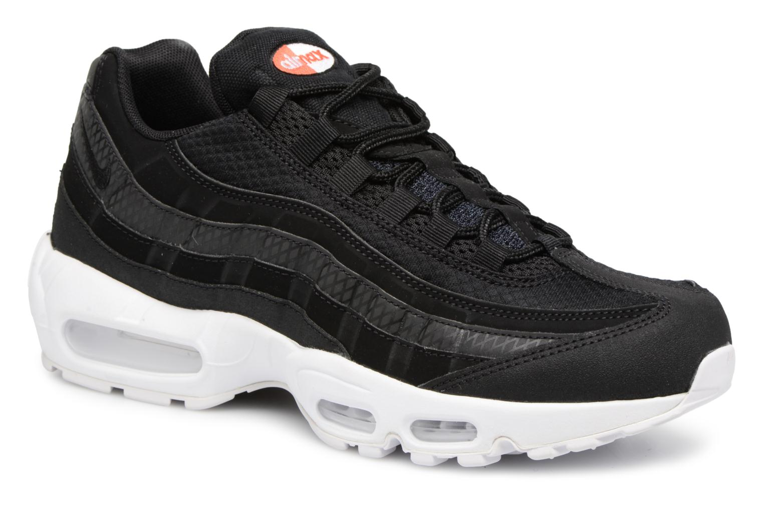 Nike Air Max 95 Premium Se Black/Black-White-Team Orange