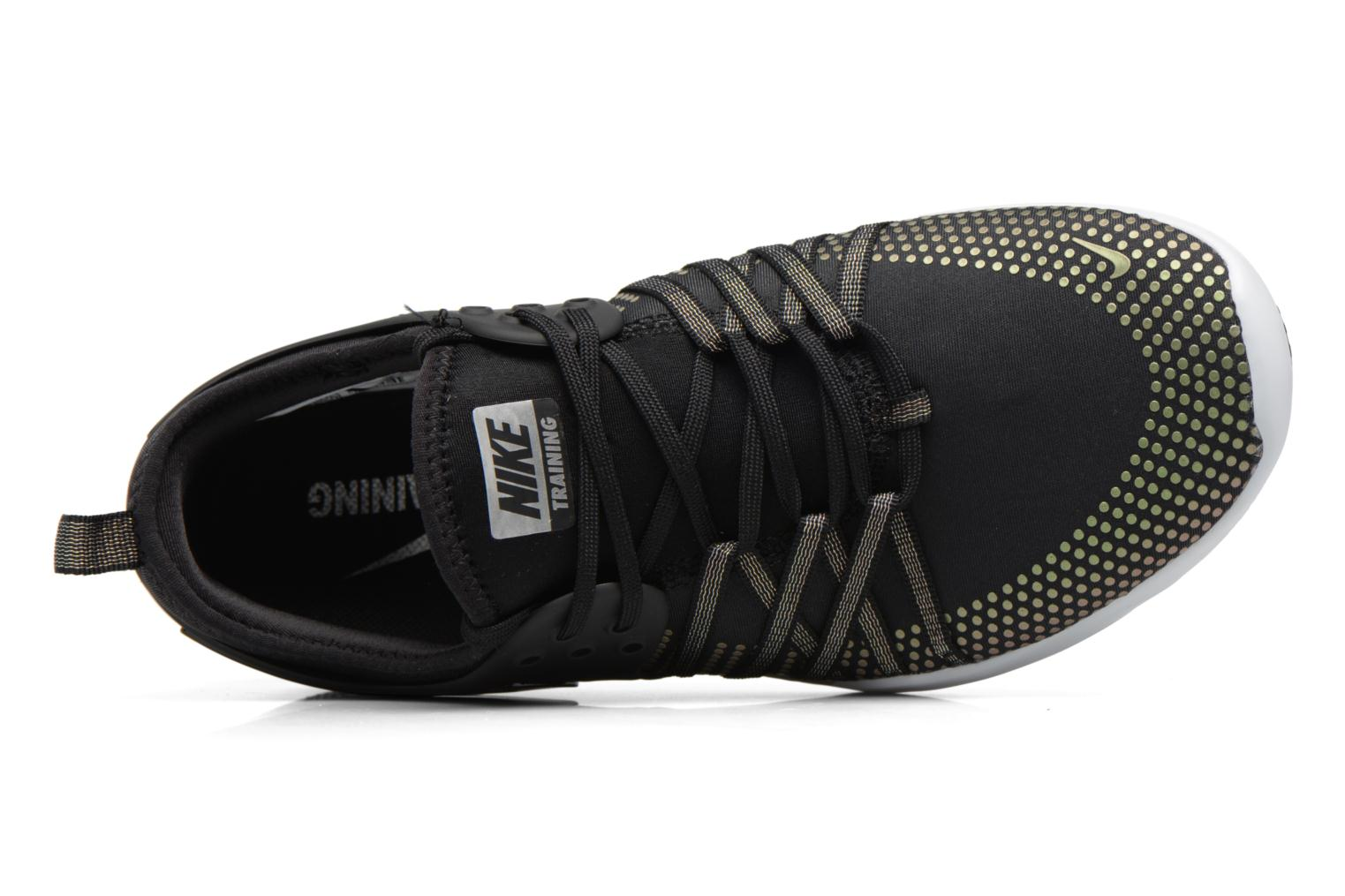 Sport shoes Nike Wmns Nike Free Tr 7 Mtlc Black view from the left