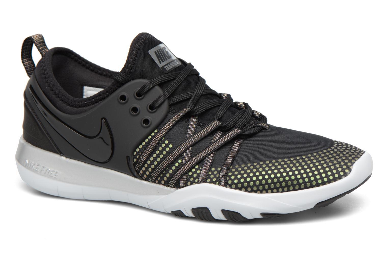 Sport shoes Nike Wmns Nike Free Tr 7 Mtlc Black detailed view/ Pair view