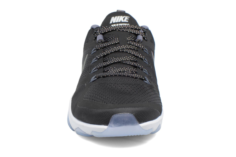 Chaussures de sport Nike W Nike Air Zoom Fitness Mtlc Noir vue portées chaussures