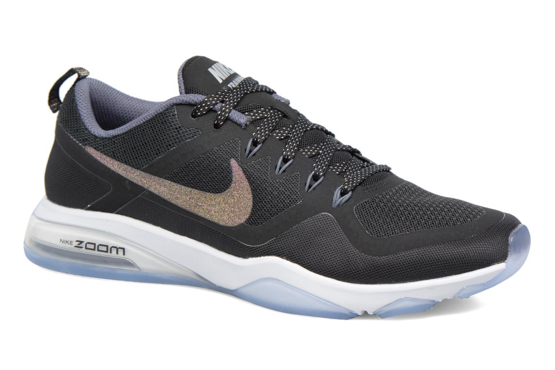 W Nike Air Zoom Fitness Mtlc Black/Multi-Color-Pure Platinum