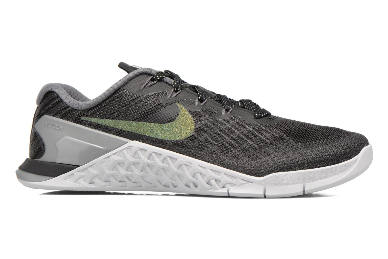 Sportssko Nike Wmns Nike Metcon 3 Mtlc Blå se bagfra