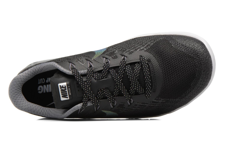 Sportssko Nike Wmns Nike Metcon 3 Mtlc Blå se fra venstre