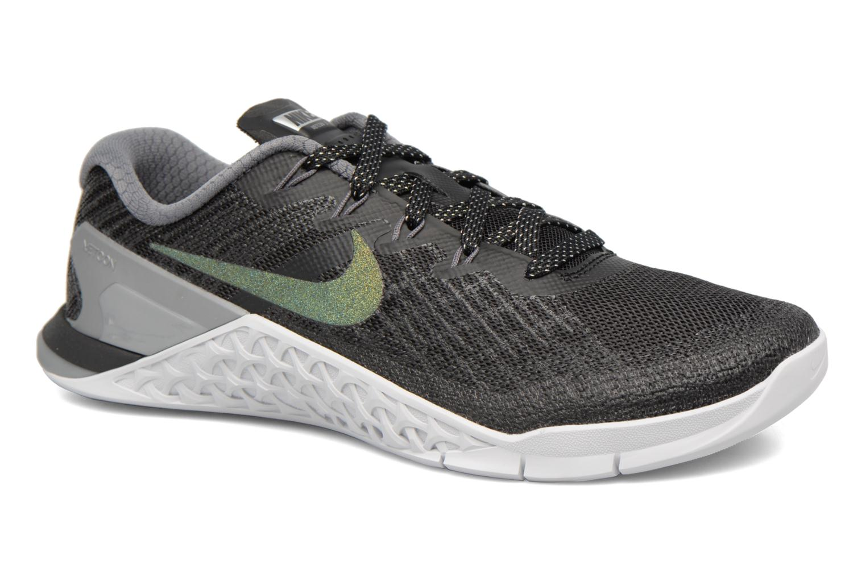 Sportssko Nike Wmns Nike Metcon 3 Mtlc Blå detaljeret billede af skoene