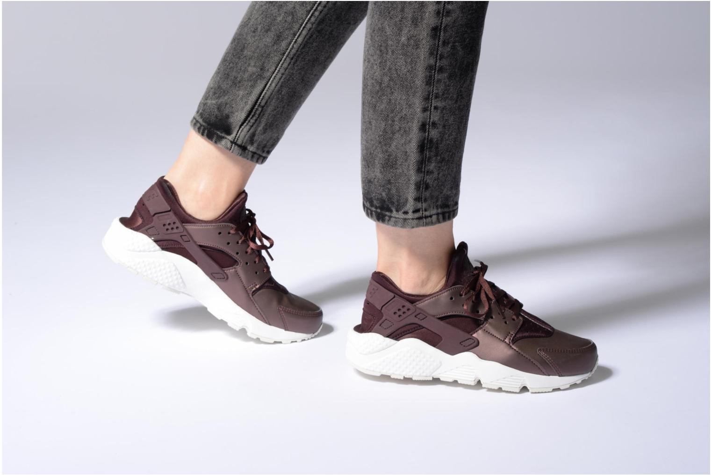 Sneakers Nike Wmns Air Huarache Run Prm Txt Oro e bronzo immagine dal basso