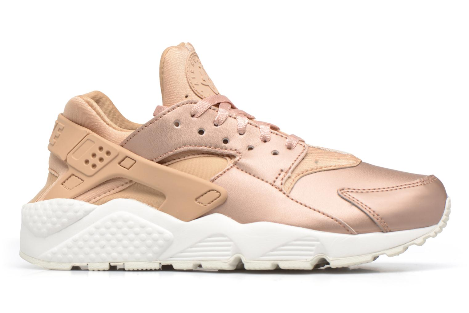 Baskets Nike Wmns Air Huarache Run Prm Txt Or et bronze vue derrière