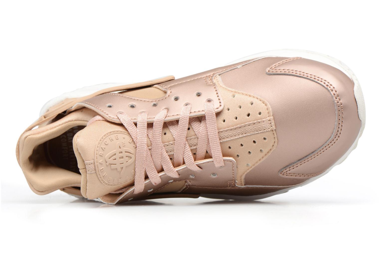 Baskets Nike Wmns Air Huarache Run Prm Txt Or et bronze vue gauche