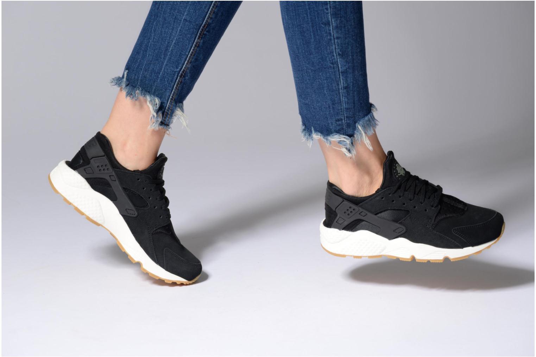 Baskets Nike Wmns Air Huarache Run Sd Rose vue bas / vue portée sac