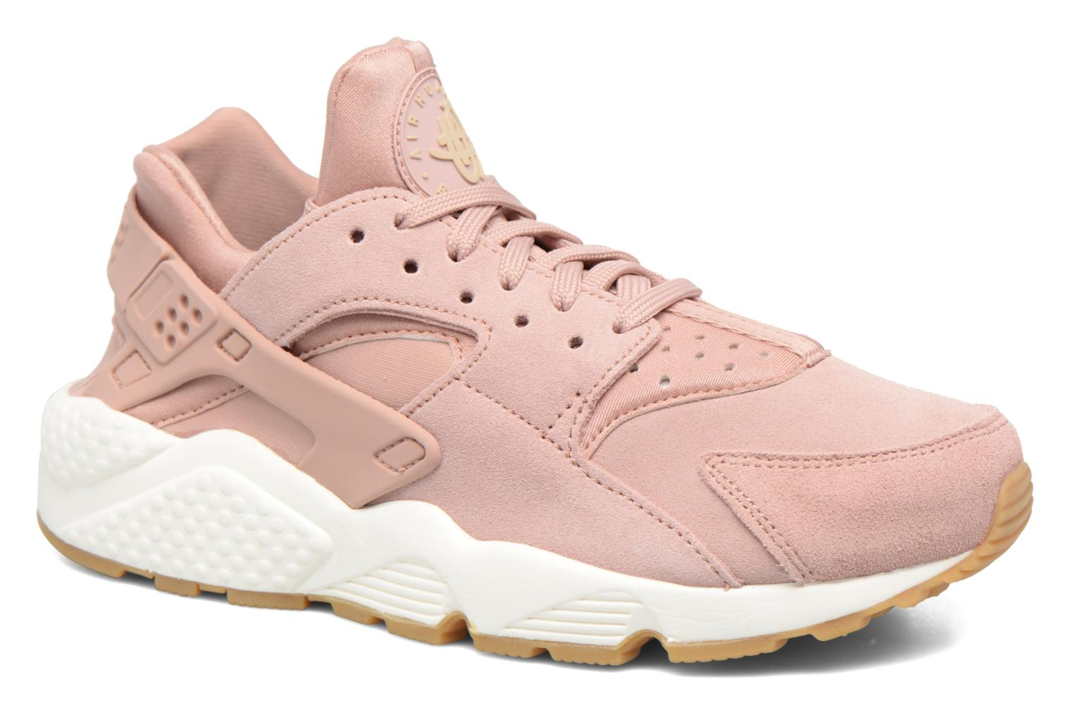 Baskets Nike Wmns Air Huarache Run Sd Rose vue détail/paire
