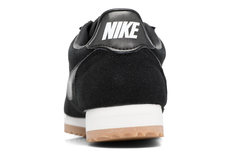 Baskets Nike Wmns Classic Cortez Suede Blanc vue droite