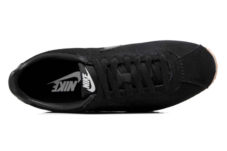 Sneaker Nike Wmns Classic Cortez Suede weiß ansicht von links