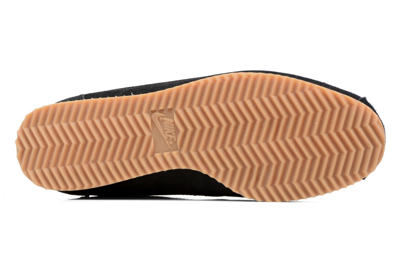 Baskets Nike Wmns Classic Cortez Suede Blanc vue haut