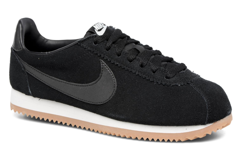Sneaker Nike Wmns Classic Cortez Suede weiß detaillierte ansicht/modell