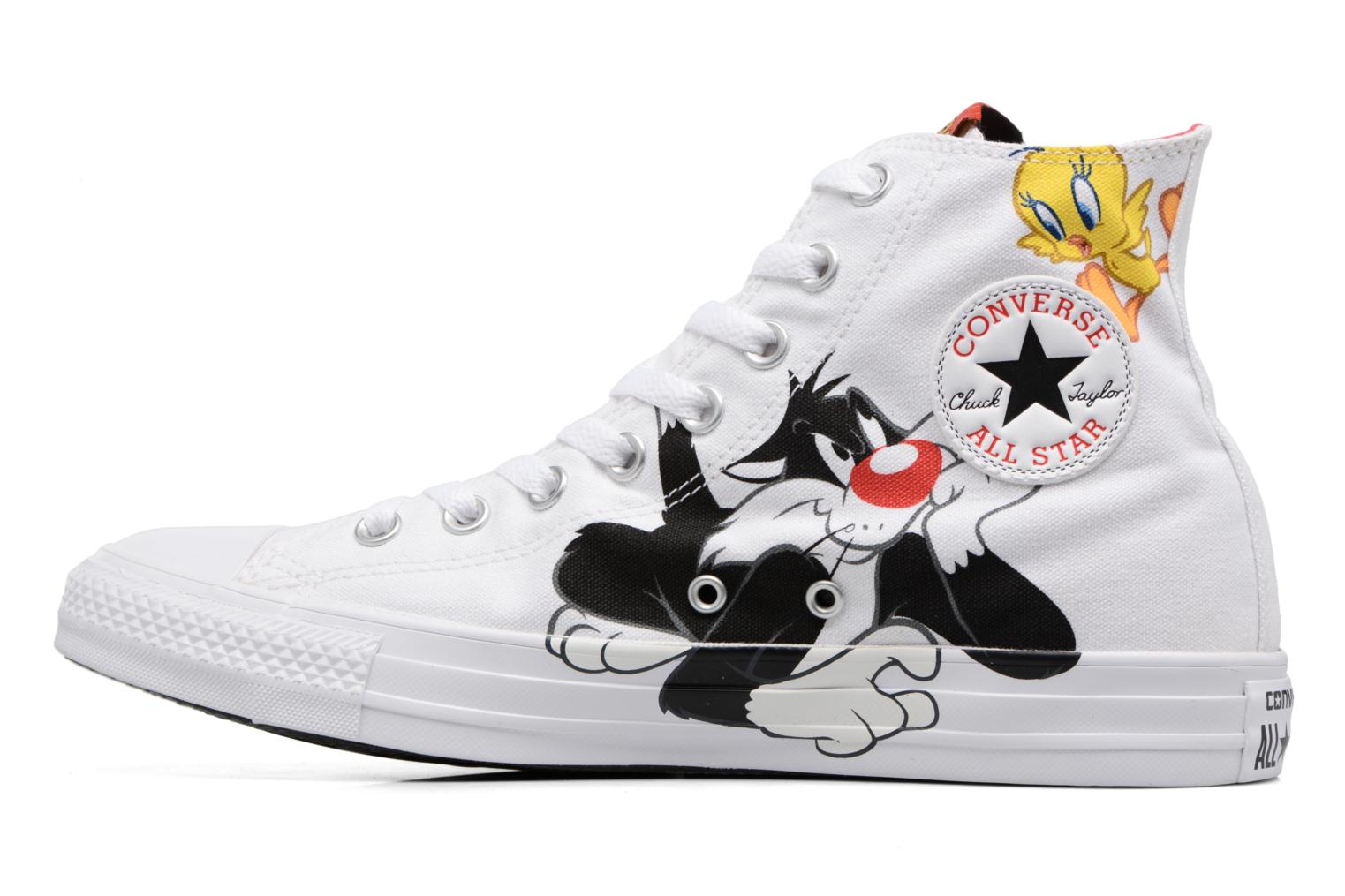 Chuck Taylor All Star Looney Tunes Hi White/Black/Tweety Yellow