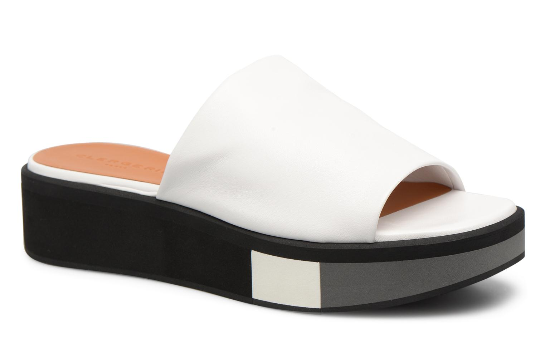 Grandes descuentos últimos zapatos Clergerie QUENOR (Blanco) - Zuecos Descuento