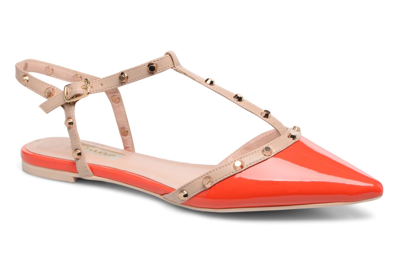 Dune London CAYOTE (Rouge) - Sandales et nu-pieds chez Sarenza (311779)