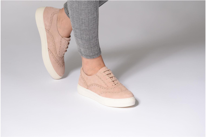Chaussures à lacets Dune London ELEYNA Beige vue bas / vue portée sac