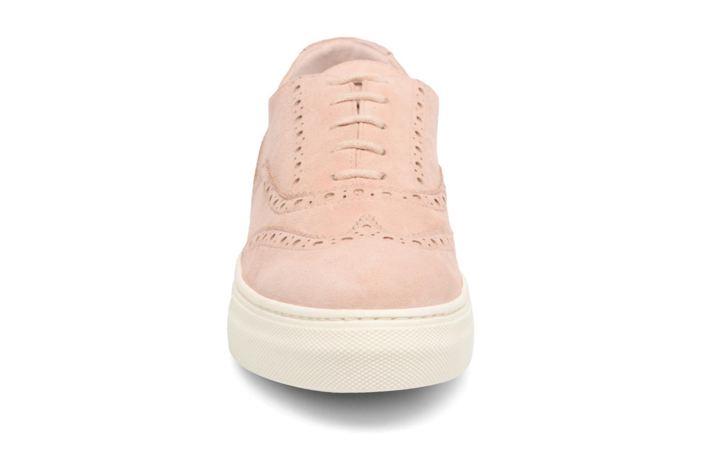 Chaussures à lacets Dune London ELEYNA Beige vue portées chaussures