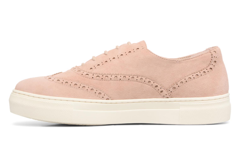 Chaussures à lacets Dune London ELEYNA Beige vue face