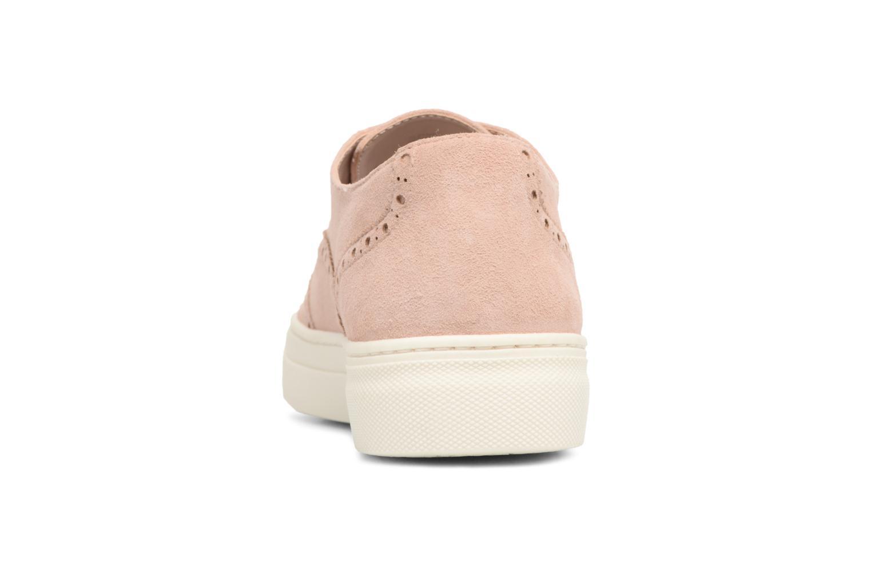 Chaussures à lacets Dune London ELEYNA Beige vue droite