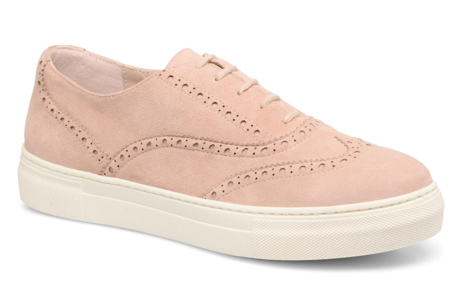 Lace-up shoes Dune London ELEYNA Beige detailed view/ Pair view