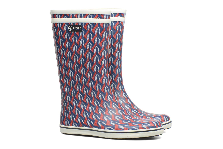 Boots & wellies Aigle Malouine AIGLE x SARENZA Multicolor 3/4 view