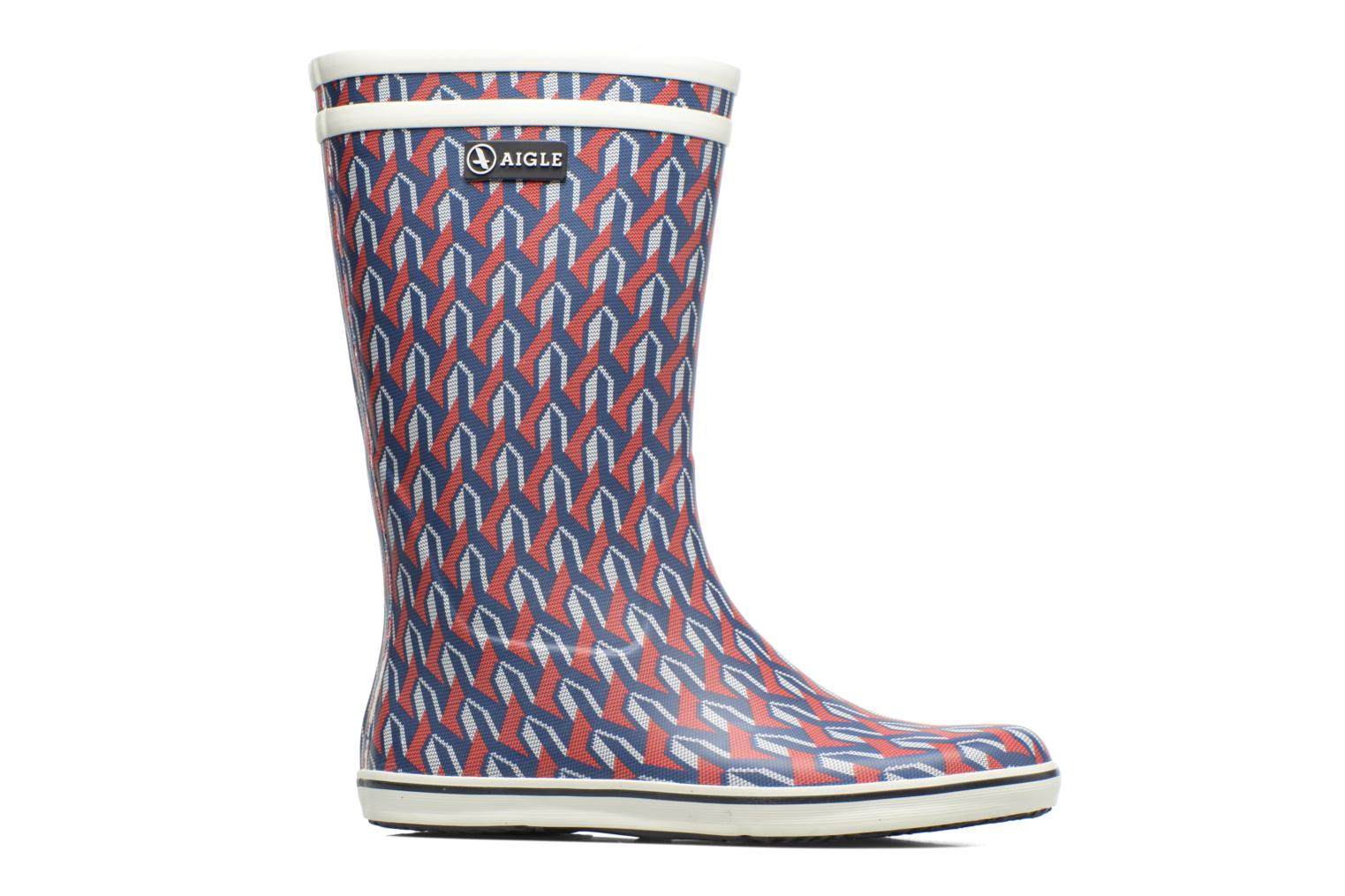 Boots & wellies Aigle Malouine AIGLE x SARENZA Multicolor back view