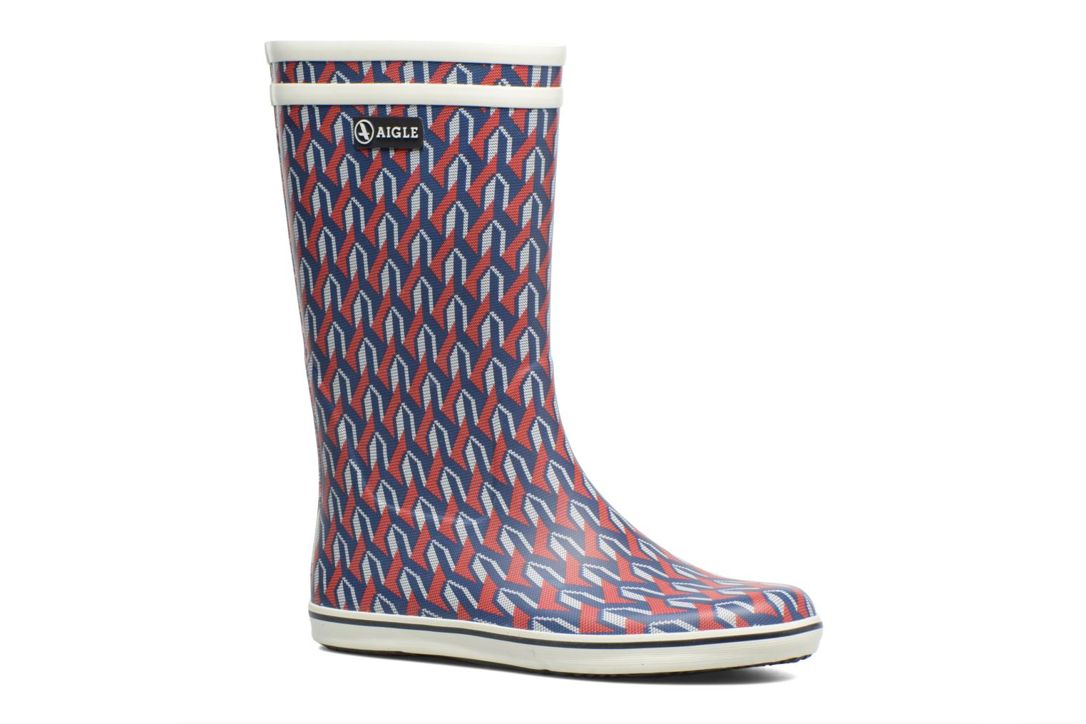 Boots & wellies Aigle Malouine AIGLE x SARENZA Multicolor detailed view/ Pair view