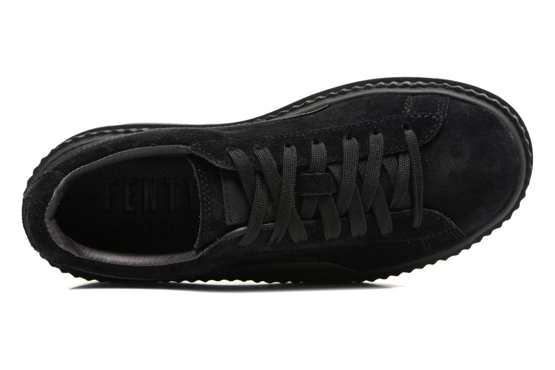 Baskets Puma Fenty Wn Cleated Creeper Noir vue gauche