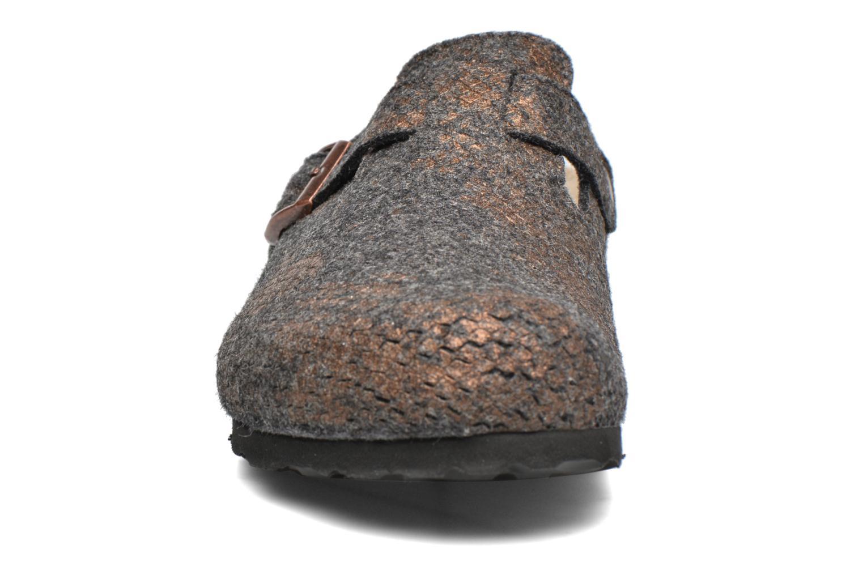 Mules et sabots Papillio Boston Gris vue portées chaussures
