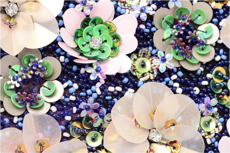 Petite Maroquinerie Dorothy Perkins EMBL BX Clutch Multicolore vue gauche