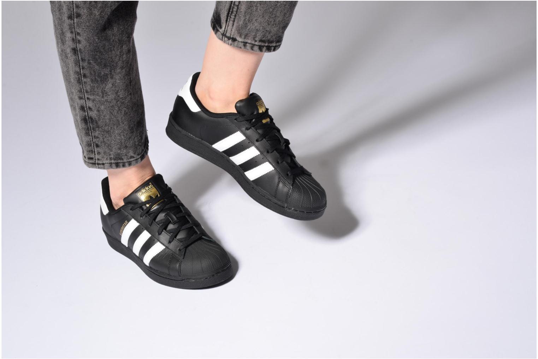 Sneakers Adidas Originals Adidas Superstar Foundation W Zwart onder