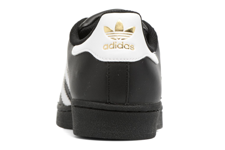 Baskets Adidas Originals Adidas Superstar Foundation W Noir vue droite