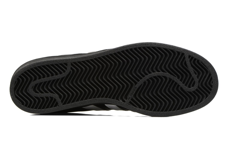 Baskets Adidas Originals Adidas Superstar Foundation W Noir vue haut