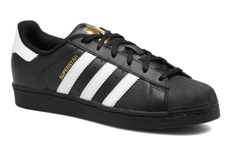 Sneakers Adidas Originals Adidas Superstar Foundation W Zwart detail