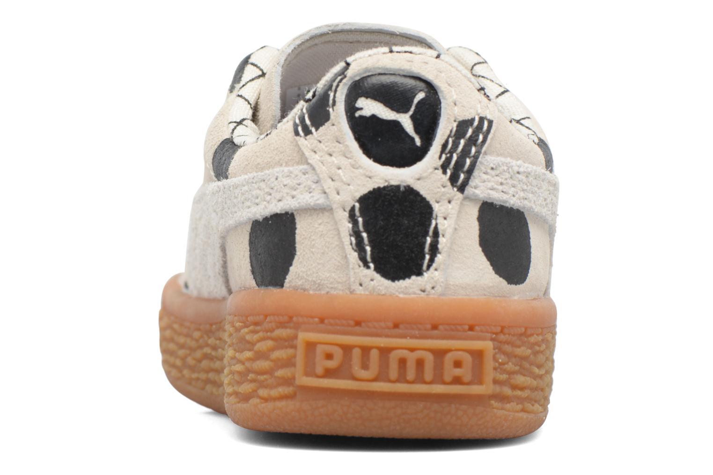 Baskets Puma Cream L3 x Tinycottons Beige vue droite